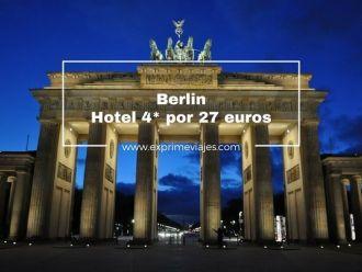 berlin hotel 4* 27 euros