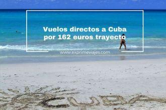 cuba vuelos directos 126 euros trayecto
