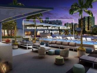 hotel hilton miami beach 33 euros