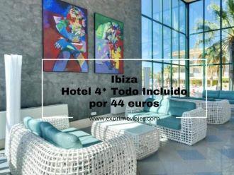 ibiza hotel 4* todo incluido 44 euros