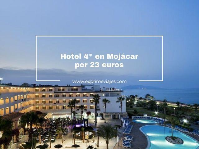 mojácar hotel 4 estrellas 23 euros
