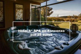 sanxenxo hotel 4* SPA 25 euros