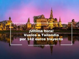 tailandia vuelos 142 euros trayecto tarifa error