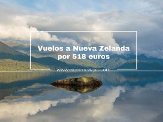 vuelos a nueva zelada por 518 euros