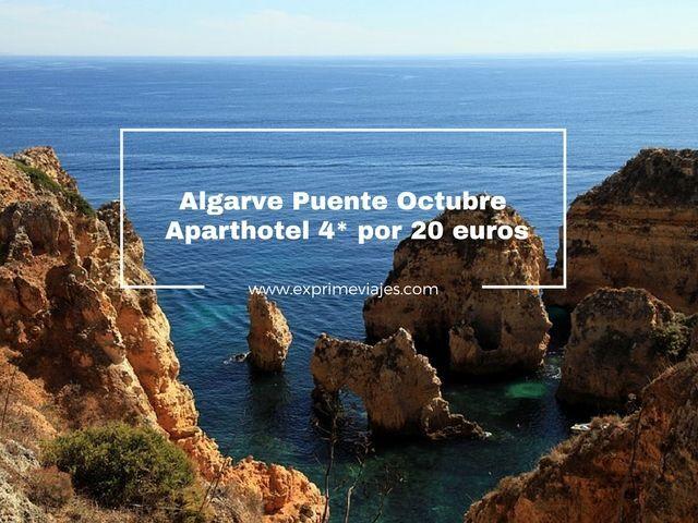 ALGARVE PUENTE OCTUBRE: HOTEL 4* POR 20EUROS