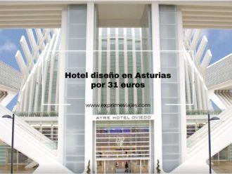 hotel diseño en Asturias por 31 euros