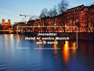munich tarifa error hotel 4* 8 euros