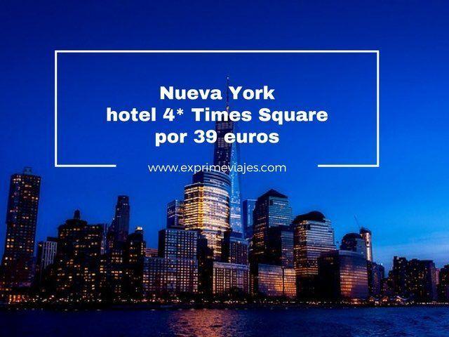 nueva york hotel 4* times square por 39 euros