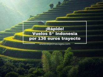 indonesia tarifa error vuelso 136 euros trayecto