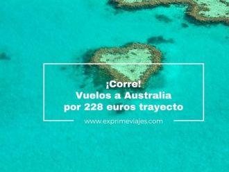 australia tarifa error vuelos 228 euros trayecto