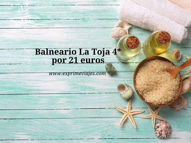 BALNEARIO DE LA TOJA 4* POR 21EUROS