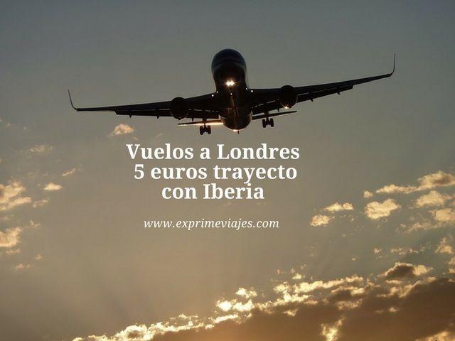 londres 5 euros trayecto iberia