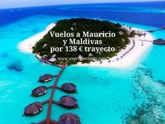 mauricio maldivas vuelos 138 euros trayecto