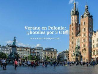 polonia hoteles verano 5 euros