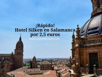 salamanca hotel silken 2, 5 euros