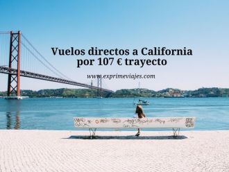 vuelos directos california 107 euros trayecto