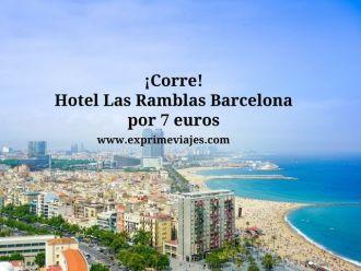 barcelona tarifa error hotel 7 euros