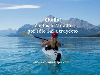 canadá vuelos 149 euros trayecto