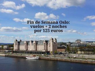 oslo fin de semana 125 euros