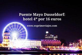Puente Mayo Dusseldorf hotel 4* por 16 euros