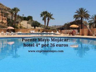 Puente Mayo Mojácar hotel por 26 euros
