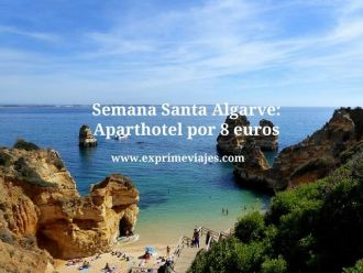 Semana Santa Algarve aparthotel por 8 euros