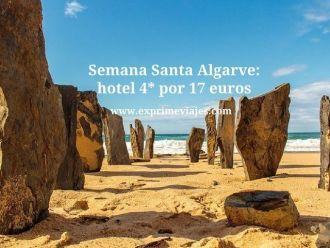 Semana Santa Algarve hotel 4* por 17 euros