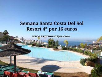 Semana Santa Costa del Sol resort 4* por 16 euros