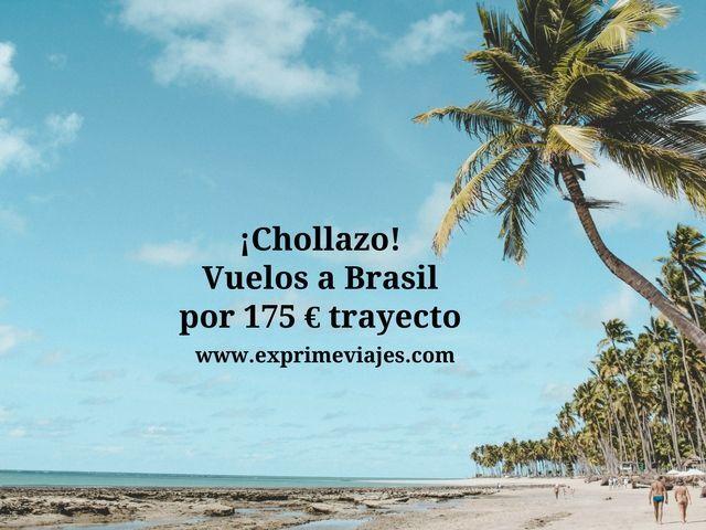 brasil vuelos 175 euros trayecto