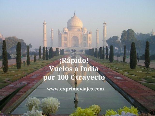 india tarifa error vuelso 100 euros