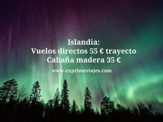 islandia vuelos directos 55 euros