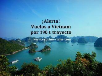 vietnam vuelos 190 euros trayecto
