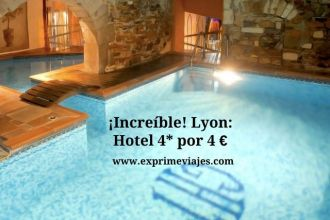 Lyon tarifa error hotel 4* 4 euros