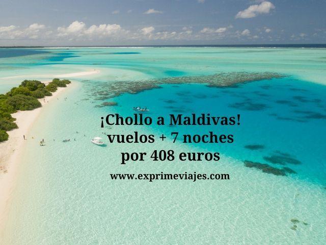 MALDIVAS: VUELOS + 7 NOCHES POR 408EUROS