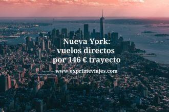 nueva york vuelos directos 146 euros
