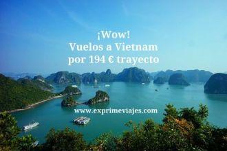 vietnam vuelos 194 euros trayecto