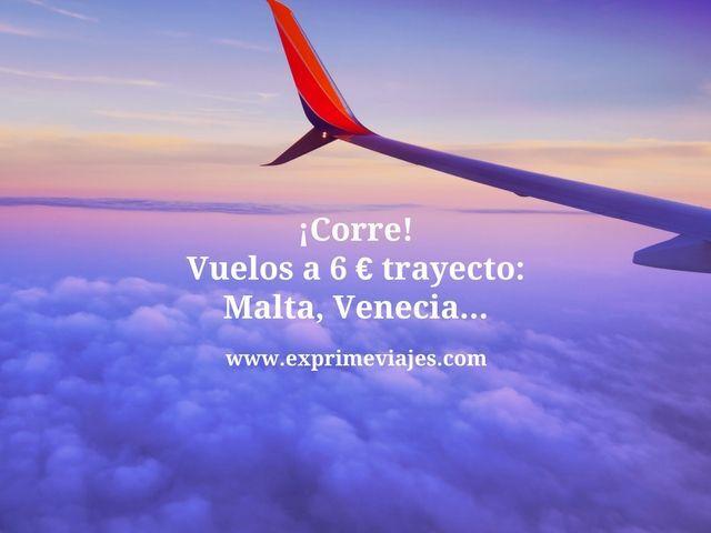 vuelos 6 euros trayecto
