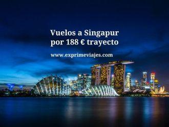 vuelos a Singapur por 188 euros trayecto