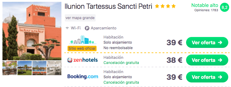 ESCAPADA SANCTI PETRI: RESORT 4* POR 19 EUROS