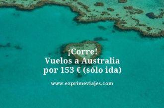 tarifa error vuelos australia 153 euros solo ida