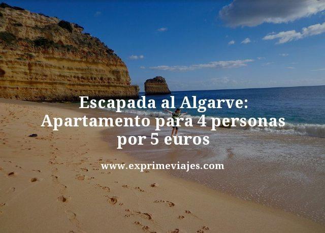 Escapada al Algarve apartamento para 4 personas por 5 euros
