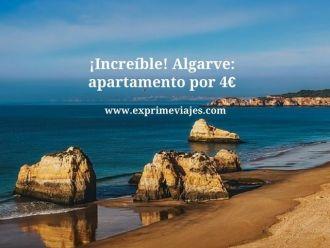increible algarve apartamento por 4 euros