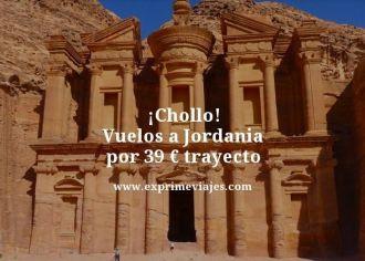 Chollo vuelos a Jordania por 39 euros trayecto