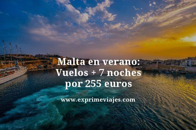 Malta-en-verano-Vuelos--7-noches-por-255-euros