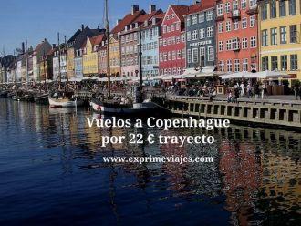 copenhague vuelos baratos 22 euros trayecto
