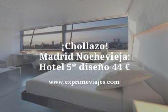 chollazo madrid nochevieja hotel 5 estrellas diseño por 44 euros