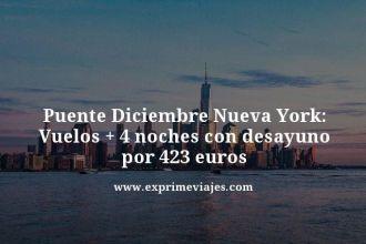 Puente-Diciembre-Nueva-York-Vuelos--4-noches-con-desayuno-por-423-euros