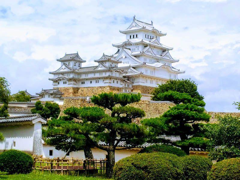 Castillo Himeji de Japon