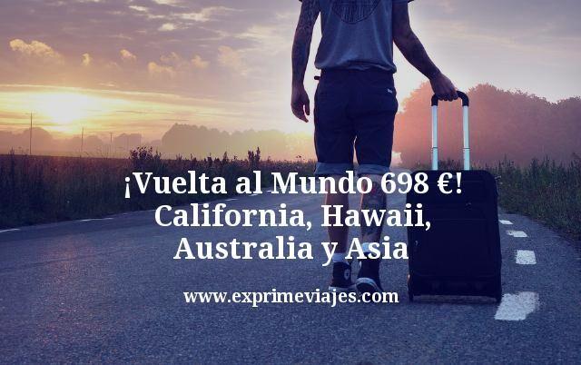 ¡Vuelta al Mundo por 698euros! California, Hawaii, Australia y Asia