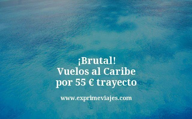 ¡Brutal! Vuelos al Caribe por 55euros trayecto